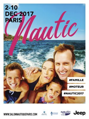 affiche salon nautique Paris 2017