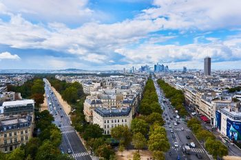 deplacements professionnel sur Paris en VTC